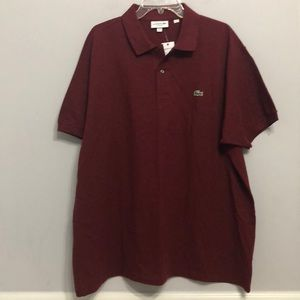 LACOSTE Classic Fit POLO Shirt 👕 Size 4XL NEW